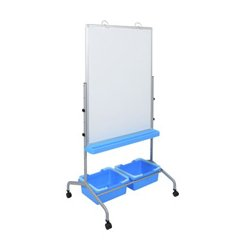 Luxor / H Wilson - L330 - Luxor L330 Classroom Chart Stand with Storage Bins