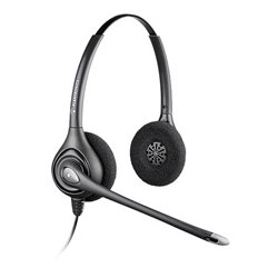Unique Product Solutions - 64339-31 - Plantronics SupraPlus Wideband HW261N (Binaural) Headset