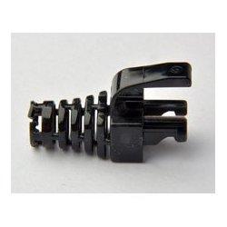 Platinum Tools - 105,031.00 - Platinum Tools 105031 EZ-DataLock Strain Relief for EZ-RJ45 Cat5e Only Black 100pc/Bag