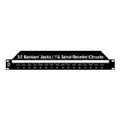 AVP Mfg & Supply - JR-32 - AVP Datapatch-32 Bantam Jacks No Normals