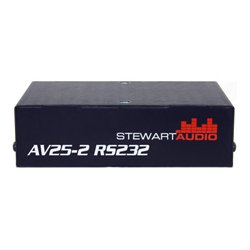 Stewart Audio - AV25-2 RS232 - Stewart Audio 2 Channel Subcompact Amplifier with RS232 Control