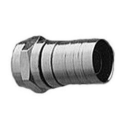 TecNec - 25-7033 - F-56ALX Universal F-Crimp Connector for RG-6 Tri-Shield Cable