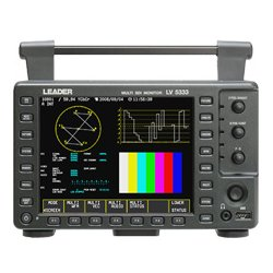 Leader Instruments - LV5333 - Leader LV-5333 3G-SDI Portable Waveform Monitor with Histogram & Embedded Audio