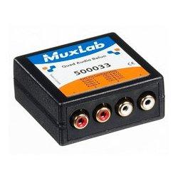 MuxLab - 500,033.00 - MuxLab 500033 VideoEase Quad Audio Balun