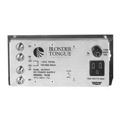 Blonder Tongue - 1,536.00 - Blonder Tongue PS-1536 Power Supply Dual Output -21 VDC At 100 mA