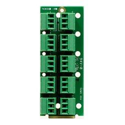 Ward-Beck Systems - T6303A - Ward-Beck openGear Single Card Analog to Digital Audio Converter 110 Ohm 10 3-Pin Terminal Block Rear Module