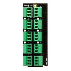 Ward-Beck Systems - T6403A - Ward-Beck openGear Dual Card Analog to Digital Audio Converter 110 Ohm 10 3-Pin Terminal Block Rear Module