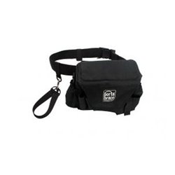 PortaBrace - ACB-3B - PortaBrace Assistant Camera Pouch with Belt - Large - Black