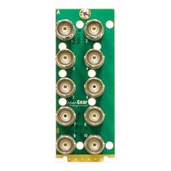 Ward-Beck Systems - T6301A-3G - Ward-Beck Single Card 10 3G BNC Rear Module