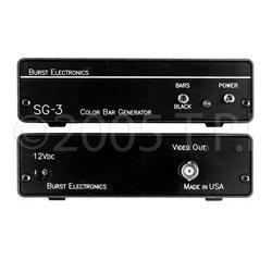 Burst Electronics - SG-3 - Burst SMPTE Video Color Bar & Black Burst Generator