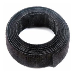 Velcro Industries - 90340 - VELCRO Brand VELCRO Brand One-Wrap Reusable Adhesive Strap - 0.75 Width x 12 ft Length - Reusable - 1 / Pack - Black