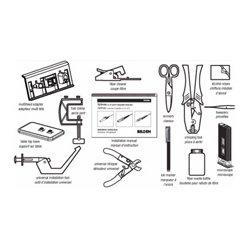 Belden / CDT - AX103142 - Belden Modular Connectors - Optimax Enhanced Installation Tool Kit - Black
