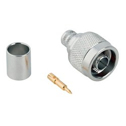 Connectronics - 172102H243 - Amphenol Connex Male N Type Connector for LMR400