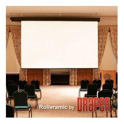 Draper - 115,247.00 - Draper 115247 Rolleramic 133 Inch HDTV Matte White XT1000E 110V