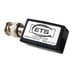 Energy Transformation Systems - PV848 - ETS Composite Video Over CAT5 Extended Baseband Video Balun Male BNC to RJ45 Pins 5 & 4