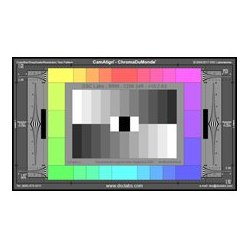 DSC Labs - SRW24-CDM24R - DSC Labs ChromaDuMonde 24 Color Correction Test Chart with Resolution - Senior 24 x 14.7