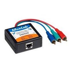 MuxLab - 500,050.00 - MuxLab 500050 VideoEase Component Video/Digital Audio Balun- M