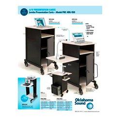 Oklahoma Sound - PRC450 - Oklahoma Sound Jumbo Presentation Cart Plus