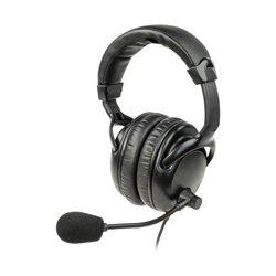 Listen Technologies - LA-454 - Listen ListenTALK Headset 4 (Over Ears Dual with Boom Mic)