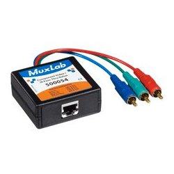 MuxLab - 500,055.00 - MuxLab 500055 Component Video/IR Pass-Thru Balun F