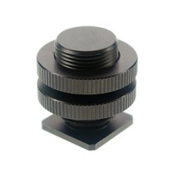 Wind Tech / Olsen Audio - CM-58 - Hot Shoe to 5/8 Inch-27 Microphone Thread