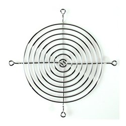 Orion Fans - FAN-G10915A - Nickel Chrome Muffin Fan Guard