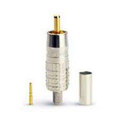 Canare Electric - RCAP-C5A - Canare 75 Ohm RCA Video Crimp Plug