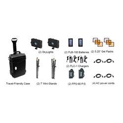 Frezzi Energy Systems - 91,061.00 - Frezzi 91061 SkyLight 2-Head V-Mount Kit with Batteries