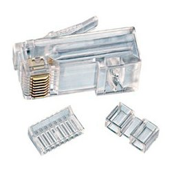 Stirling / IDEAL Industries - 85-366 (PER 25 PACK) - Ideal 85-366 RJ45 Modular Plug 8Way 1Port CAT6 -25pc pkg
