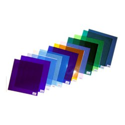 Rosco Labs - 100,000,692,024.00 - Rosco Gel Sheet - Brilliant Blue