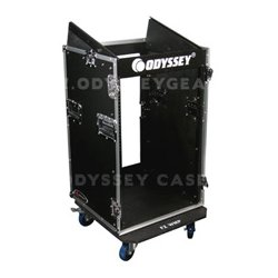 Odyssey Cases - FR1016W - Odyssey Flight Ready Combo Rack with Wheels