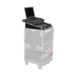 Odyssey Cases - FZGS1116W - Odyssey Glide Style 11 Space x 16 Space Combo Rack with Wheels