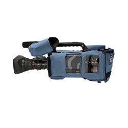 PortaBrace - CBA-HPX370 - Portabrace Camera Body Armor for the Panasonic AG-HPX370 - Blue