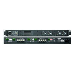Ashly Audio - SRA-2075 - Ashly 40 WPC at 8 Ohm 2 Channel Power Amplifier