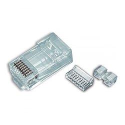 Platinum Tools - 106,175.00 - Platinum Tools 106175 RJ45 (8P8C) Cat6 HP Round-Solid 3-Prong 500/Bag