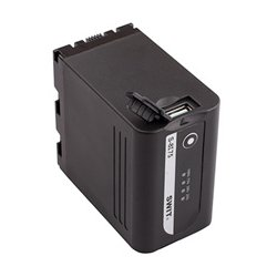 SWIT Electronics - S-8I75 - SWIT 60Wh JVC SSL-JVC75 Style Replacement Battery with DC Output and USB Charging Port