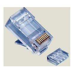 Platinum Tools - 106187C - Platinum Tools RJ45 Cat6 2 Piece High Performancer Connector - 25 Pack