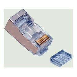 Platinum Tools - 106207C - Platinum Tools RJ45 Cat6 Shielded 2 Piece High Performancer Connector - 50 Pack