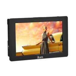 ikan - S7H - ikan Saga 7 Inch High Bright 4K Signal Support HDMI/3G-SDI On-Camera Field Monitor