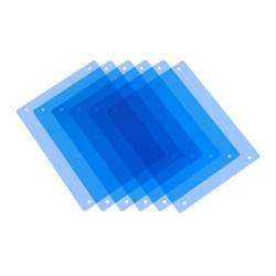 PAG Broadcast Equipment - PAG-9982 - PAG 9982 Paglight Half CT Blue Filters x 6