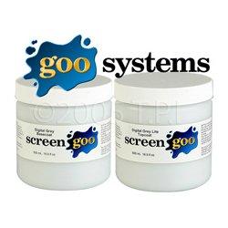 Goo Systems - GOO-4186 - Screen Goo Digital Grey Topcoat Projection Screen Paint 3.78 Liter