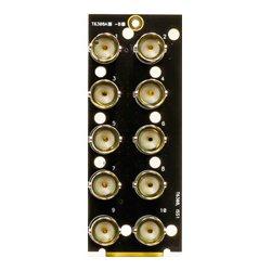 Ward-Beck Systems - T6308A - Ward-Beck Single Card 10 BNC Rear Module