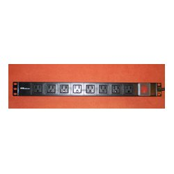 AVB Cable - AVB-PC-RM-8B - AVB PC-RM-8B 8 Outlet Rack Mounted Power Distribution Unit