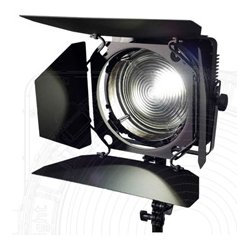 Zylight - ZYL-F8-B - F8-B Black Light 365nm LED Fresnel with Barn Doors