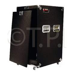Odyssey Cases - CRP18W - Oddyssey Pro 18 Space Amp Rack with Wheels