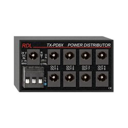 Radio Design Labs (RDL) - TXPD8X - Radio Design Labs TX-PD8X Switching Power Supply Distributor