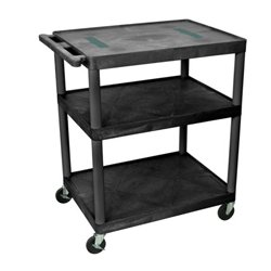 Da-Lite - 4,692.00 - DaLite PIXMate PL2-42 Plastic Cart with 4 Inch Casters - Shelf Size 18 x 24 Inches