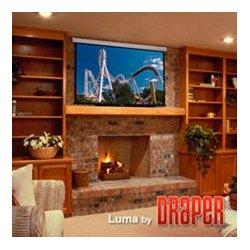 Draper - 207,093.00 - Draper 207093 40.5x72 Inch 16:9 HDTV Format Matt White Luma Screen