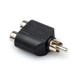 Hosa - GRF-398 - Hosa Technology audio Y adapter 2 RCA female to one RCA male