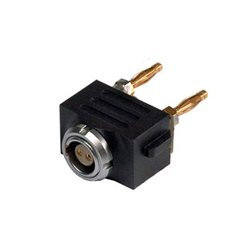 PAG Broadcast Equipment - PAG-9709L - PAG 9709L Plug-in 2-pin Lemo Output Connector for PAGlink PowerHub